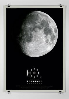 Moon on the Behance Network #print #design #graphic #poster #ilustration #moon