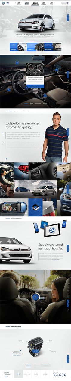 The future of Volkswagen on Behance #volkswagen #design #web #car
