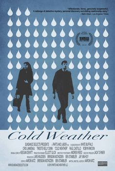 Cold Weather - Movie Trailers - iTunes #movie #weather #design #cold #poster