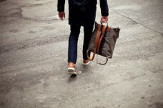 Convoy #minimal #fashion #street #man #clean #bag