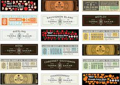 Ryan Feerer design at www.mr cup.com #design #label #radness #booze #typography