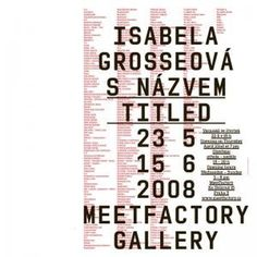 advancedesign / graphic self-service #czech #concert #poster #typography