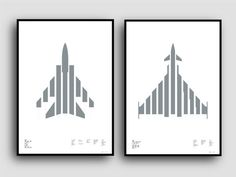 Tornado and Typhoon available on Kickstarter til 4th May Metallic Silver on White Plike paper