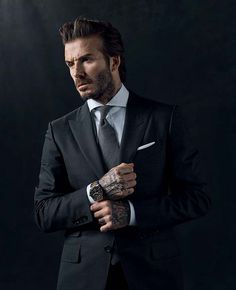David Beckham scores new role as face of Tudor #BornToDare #tudorwatch #blackbay #davidbeckham #swissmade #tudorblackbay #luxuryes
