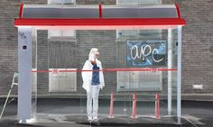 Behind Waiting: Frédéric Bourret Captures People Waiting For The Bus