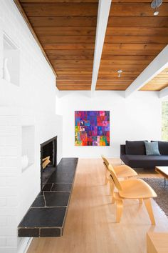 Canyon Residence - 1950's building transformed into a modern family home (4)
