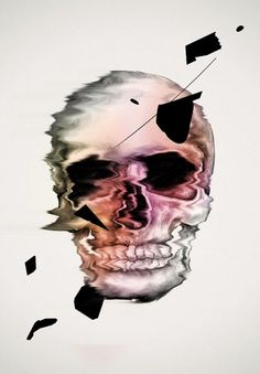 Scull - Oh Yeah Studio #print #illustration