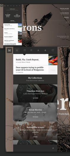 Medium by Leigh Taylor #interactive #ux #design #& #ui #digital