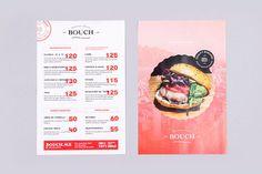 BouchBugerBistro #cardapio #print #menu
