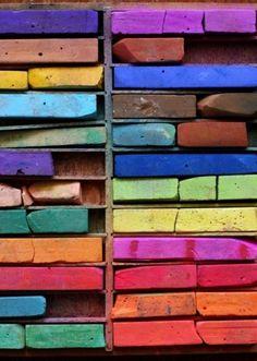 this isn't happiness™ (Chalk), Peteski #rainbow #chalk