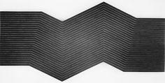 minimal, minimalist, monochrome, linear, pattern, shape, frank stella