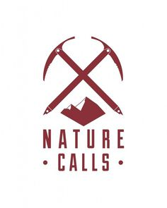 Nature Calls Logo #logo #identity