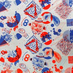 #Gezeever PrintJam #yarnageprinting #screenprint tablecloth