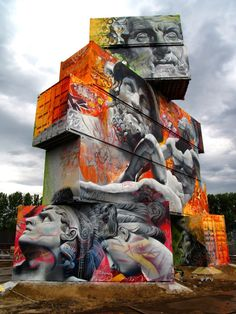 Pichi & Avo | PICDIT #graffiti #paint #art #street #spray