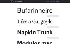 R-Typography, Inspiration N°611 published on The Gallery in date March 18th, 2016. #website