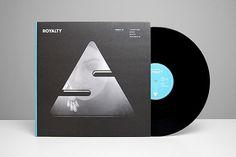 Royalty EP / FEP001 on the Behance Network #record #vinyl #minimal #typography