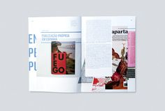 MagSpreads Magazine Design and Editorial Inspiration: Pli * Arte e Design: Issue 2 3 / 2012 Enthusiasm