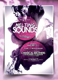 poster #melting #poster #sounds