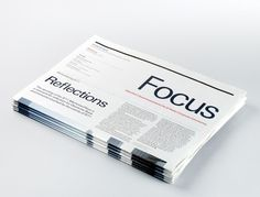 Recent Projects Showcase | September Industry #print #design #newspaper #minimal #typography