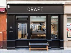 Café Craft by POOL #interior #design #decoration #caf