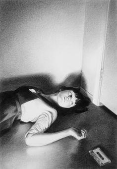 Mercedes Helnwein   PICDIT #drawing #art