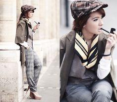 lookbookdotnu: My name is Sherlock Holmes (by... EyesFaveCandy #sherlock #holmes #woman