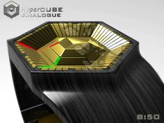Hypercube Watch #design #futuristic #gadget #industrial #concept #art