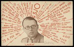 laurie72.jpg 408×262 pixels #ham #card #1925 #radio