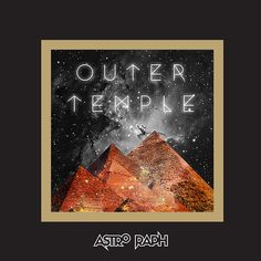 outer temple #temple #album #space #cover #stars #pyramid