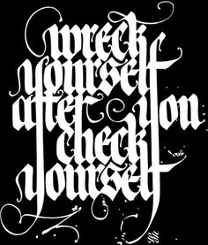 Calligraffiti #calligraphy