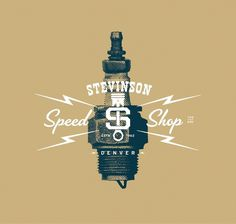 Stevinson Speed Shop | TunnelBravo #logo #brand #shop #speed