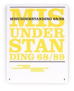 mu_cover.jpg (470×577) #misunderstanding #book #typography