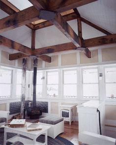 AIA - Montana, Design Awards -- Judith Mountain Cabin - Prairie Wind Architecture #interior #cabin #rustic #chic