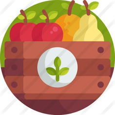 See more icon inspiration related to food and restaurant, farming and gardening, ecology and environment, organic, vegan, healthy food, vegetarian, vegetables, food and fruits on Flaticon.