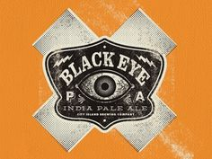 Dribbble - Black EYE PA (heh, get it?) by Bennie Kirksey Wells