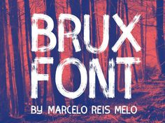 Brux Brush Typeface