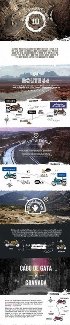 worlds best motorcycle routes #design #website #webdesign #wordpress #layout