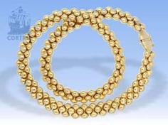 Kette/Collier: sehr hochwertiges und dekoratives vintage Collier mit interessantem Design