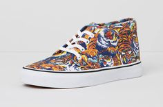 Image of KENZO x Vans 2013 Fall/Winter Collection #paris #pattern #kenzo #flying #colors #street #fashion #tiger