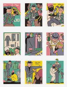 The Daileys - Rami Niemi #niemi #rami #illustration