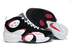 Nike Flight One Nrg Men Shoes White and Black Wolf Grey/Red