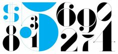 números — Friends of Type #of #contrast #numbers #type #friends #typography