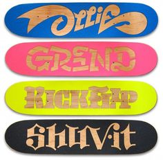 Bordo Bello | Erik Marinovich #skateboard #type #awesome