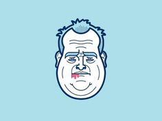 Rob_ford #vector #drawing #illustration #mayor #character