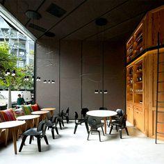 Barton Restaurant Interior in Barcelona.