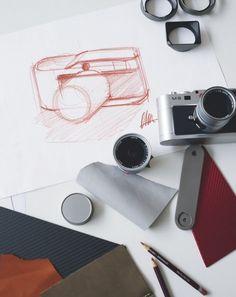 Mythos Leica #camera #design #drawing