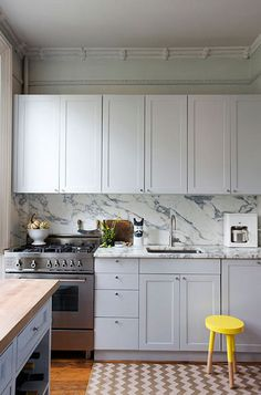 bedford #interior #design #decor #kitchen #marble #deco #decoration