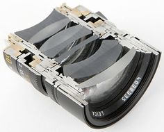 Cross Section Views of Leica Lenses #cross #camera #section