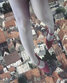 by soleá #flying #shoes #legs