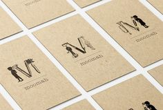 Moomah | Apartment One #design #identity